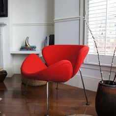 Deze prachtige Artifort Orange Slice fauteuil is binnekort verkrijgbaar bij Combo aan de Gracht! #design #artifort #fauteuil #chair #home #lounge #interior #interiordesign