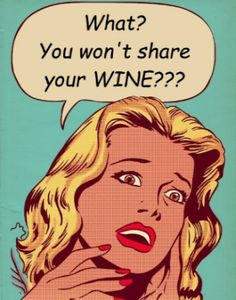 Free printable Retro funny inspired unique Wine bottle labels and tags found at thewinecrafter.com go to to download or print free for your party your retro fan!