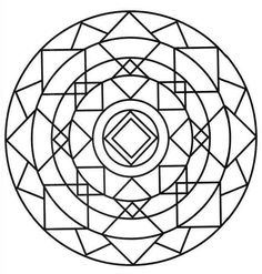 Mandalas coloring pages. 91 Mandalas pictures to print and color. Geometric Coloring Pages, Mandala Coloring Pages, Colouring Pages, Coloring Pages For Kids, Coloring Books, Mandalas Painting, Mandalas Drawing, Dot Painting, Mandala Art