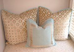 custom pillow detail