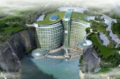 Crazy Hotel Project in China