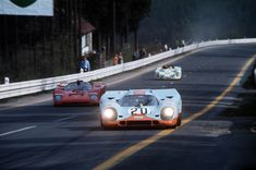 Jo Siffert / Brian Redman, #20 Porsche 917K (John Wyer Automotive Engineering), 24 Hours Le Mans 1970 (DNF)