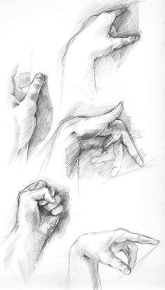 48 Ideas For Drawing Hand Study Drawing Anime Hands, Arm Drawing, Anatomy Drawing, Life Drawing, Figure Drawing, Pencil Art Drawings, Animal Drawings, Art Sketches, Pencil Shading Techniques