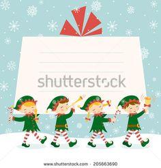 Lutins De Noël Photos et images de stock | Shutterstock Illustrations, Christmas Crafts, Images, Photos, Cards, Movie Posters, Blue Prints, Computer File, Gift