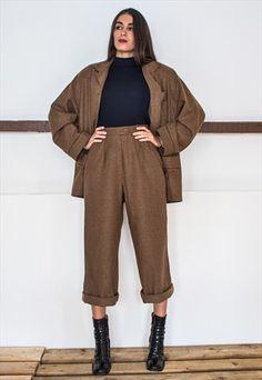 Vintage 80s Oversized blazer