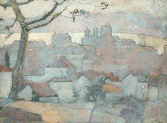 Anne Redpath, THE BAY OF ST RAPHAEL, COTE D'AZUR