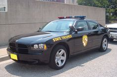 Maryland State Police Dodge Charger.