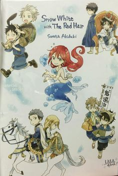 🍁Akagami no Shirayuki-Hime (赤髪の白雪姫) Manga Art, Manga Anime, Anime Art, Red Hair Cosplay, Anime Snow, Akagami No Shirayukihime, Snow White With The Red Hair, Familia Anime, Otaku