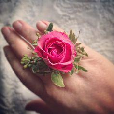 Perfect alternative to a corsage or special event flower. Wild Irish Rose, Wedding Planning, Wedding Ideas, Corsages, Flower Fashion, Fresh Flowers, Flower Power, Bouquets, Flower Arrangements