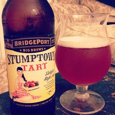 Bridgeport Brewing Company - Stumptown Tart. 7.8% abv