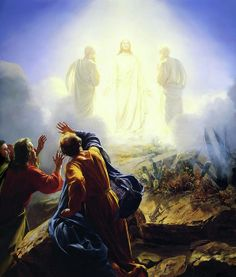 The Transfiguration - Carl Heinrich Bloch  Matthew 17.  BSF, Spring 2014