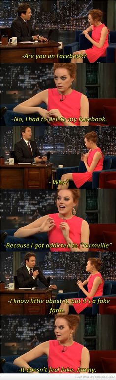 Why Emma Stone Decided To Quit Facebook