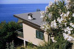 A cottage facing the sea at Resort La Francesca (Bonassola, near #Cinque Terre) http://www.villaggilafrancesca.it/it/resort-location