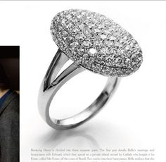 [Free Shipping For 1 Pcs] Rings For Women from The twilight breaking dawn Bella wedding rings