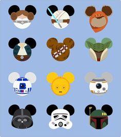 free svg: Krafty Nook: Mouse Head - Star Wars Fan Art