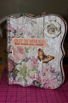 Chipboard Craft Album - Persona Paper