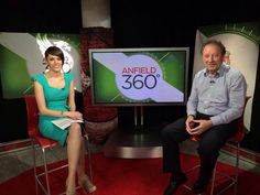 Claire Rourke and Jimmy Case on Anfield 360