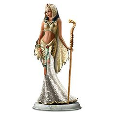 """Cindy McClure """"Cleopatra, Queen Of The Nile"""" Fashion Doll 123986001 – Cleopatra Goddess Of Egypt Mosaic Glass Sculpture Egyptian Goddess Costume, Egyptian Queen, Egyptian Fashion, Ancient Egypt Fashion, Cleopatra Costume, Egypt Art, Costume Design, Fashion Dolls, Ballet Fashion"""