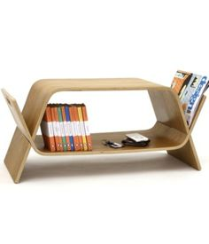 We are all bibliophiles and magazine-philes so Offi's Embrace Media Table by John Green is perfect for extra storage. $299