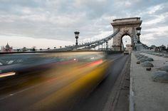 Chain Bridge in Budapest Hungary #budapest #hungary #chainbridge #bridge #yellow #yellowtaxi #taxi #longexposure #notripodnoproblem #momentsinbudapest by ruaphotography http://ift.tt/1MUoh0E
