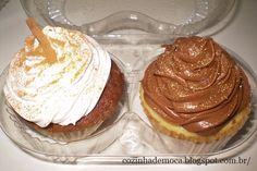 Banana cake e Ovomaltine (cupcakes)