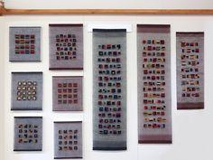 Recent gauze weave pieces; Morgan Clifford