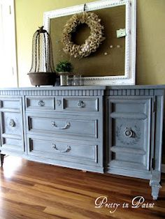 transform an ugly buffet!