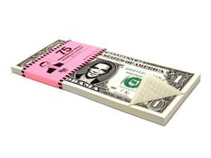 Obama Dollar Notizzettel