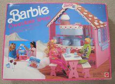Vintage BARBIE Chocolate Shop 1991 w/ Original Box Mattel Playset