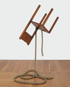 Philippe Ramette Levitation de chaise No3 2006