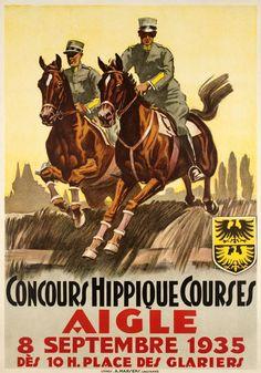 Aigle Concours Hippique 1935