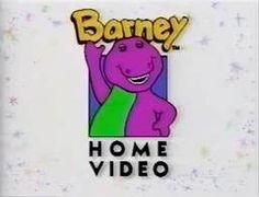 Barney home video logo 1992-1995