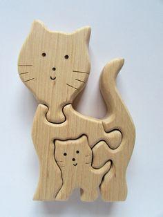Sehr schön gearbeitetes Puzzle aus naturbelassenen Erlenholz. Somit frei von Schadstoffen. Das Puzzle hat sauber abgerundete Kanten und ist glatt geschliffen. Es gibt keine scharfen...