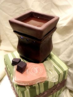 Ummm.... look what we just found. AAAAAAAH!!!!!! A Scentsy cake!!!