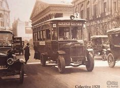 Bus in old Buenos Aires. Old Pictures, Old Photos, Vintage Photos, Argentina Travel, Busse, Historical Pictures, Vintage Travel Posters, Night Photography, Belle Epoque