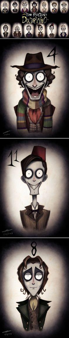 Dr. Who meet Tim Burton | #DrWho #FanArt moviepilot.com