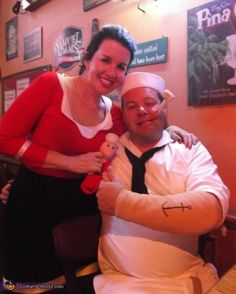 Couples halloween costume popeye and olive oyl halloween couples halloween costume popeye and olive oyl halloween pinterest couple halloween and halloween costumes solutioingenieria Images