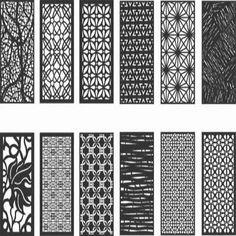 12 Pattern vectors dxf file for cnc Islamic Decor, Islamic Wall Art, Trident, Celtic Runes, Ramadan Lantern, Cnc Plasma, Panel Art, Silhouette Vector, Art File