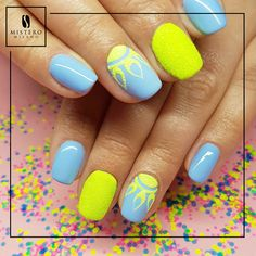 Neon Nails, Manicure, Beauty, Nail Bar, Nails, Nail Manicure, Nail Polish, Beauty Illustration, Manicures