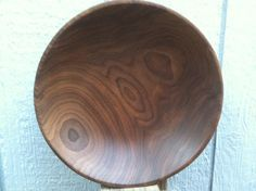 A wooden bowl can't get any better than this. Black Walnut...another beautiful hand turned bowl made by Jay Meadors.