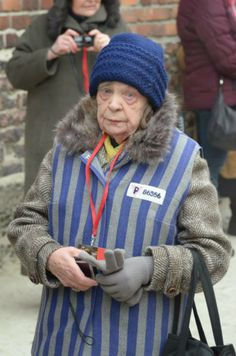 Almost 100 former Auschwitz prisoners and Holocaust survivors were the guests of honour at the 69th anniversary ceremony.