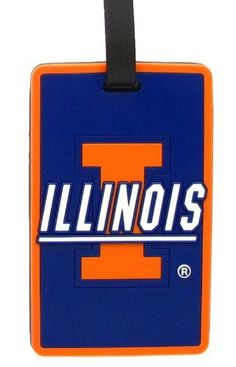 Illinois Fighting Illini - NCAA Soft Luggage Bag Tag by aminco. $8.95. Rubber. Laser cut rubber luggage tag. Officially licensed by NCAA. Attractive laser cut rubber luggage tag with Illinois Fighting Illini colors and logo. Reverse side contains clear window housing your contact information.. Save 44%!