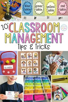 Are you a teacher looking for classroom management ideas that will make your classroom run smoother? Check out these 10 positive classroom management tips and tricks that have been tried, tested, and WORK in elementary classrooms! PLUS kids love these activities! #classroommanagement #classroomorganization #teacherfreebies #classroom #teachingtips
