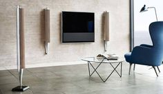 Options to wall mount or free standing Loudspeakers #interiordesign #immaculatesound #preston #Beolab18 #lancashire