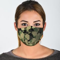 All of our Face Masks are custom-made-to-order and handcrafted to the highest quality standards. Add style and personality to your wardrobe with a custom printed face mask! Constructed from a super soft polyester blend that is comfortable and won't irritate your skin. Features adjustable ear loop buckles and an optio Best Face Mask, Face Masks, Fashion Face Mask, Face Shapes, Camouflage, Perfect Fit, Army, Ear Loop, Personality