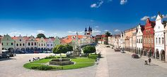 Telč - renaissance pearl of South Moravia, Czechia Heart Of Europe, Central Europe, Eastern Europe, Virtual Tour, Heritage Site, Czech Republic, Tours, Mansions, Country