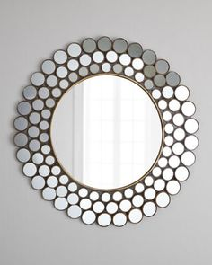 Round mirror is fram