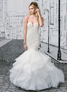 New Bridal Gown Available at Ella Park Bridal | Newburgh, IN | 812.853.1800 | Justin Alexander - Style 8901