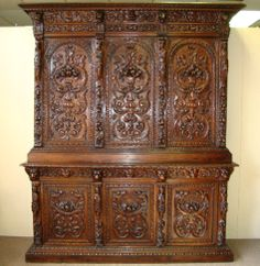 19th Century French Renaissance Revival Period Buffet 2 Corps.