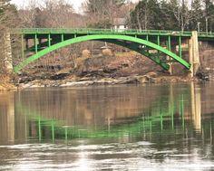 Narrowsburg Bridge over Delaware River Narrowsburg, NY